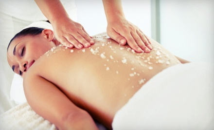 90-Minute Oxygen Signature Salt or Sugar Scrub (a $160 value) - Oxygen Spa Studio in Chicago
