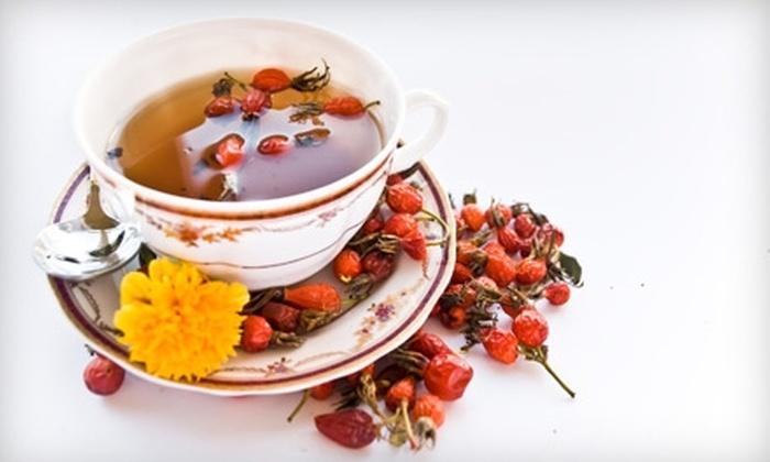 Renate's Tea Time - Regina: $10 for $20 Worth of European Café Fare and Tea at Renate's Tea Time