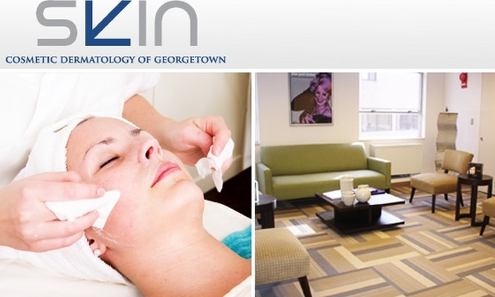 SKIN Cosmetic Dermatology of Georgetown - Glover Park: $85 for Facial Peel from One of DC's Best ($200 Value)