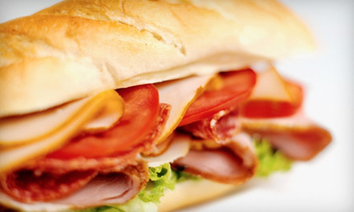 Wise Guys - Orange River Hills: $10 for Subs and Wraps for Two at Wise Guys ($21.14 Value)