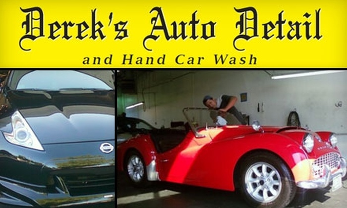 Derek's Auto Detail - Multiple Locations: $17 for a Car Wash ($35 Value) or $49 for $100 Worth of Detail Services at Derek's Auto Detail