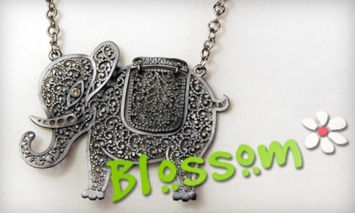 Blossom - Huntington: $10 for $20 Worth of Designer-Inspired Jewelry and Accessories at Blossom