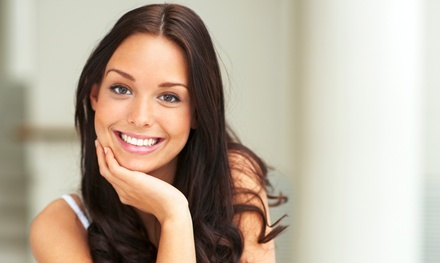 Laser Teeth Whitening Plus Dental Check-Up and X-Rays at...