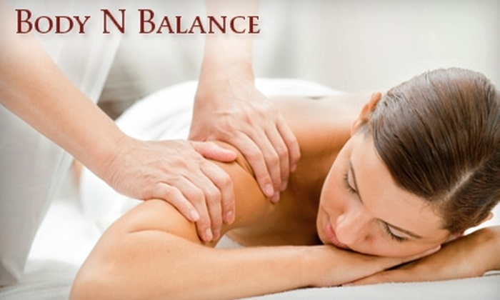 Body N Balance Massage Therapy - Wall: $45 for One-Hour Massage and Choice of Additional Treatment Technique at Body N Balance Massage Therapy ($90 Value) in Wall