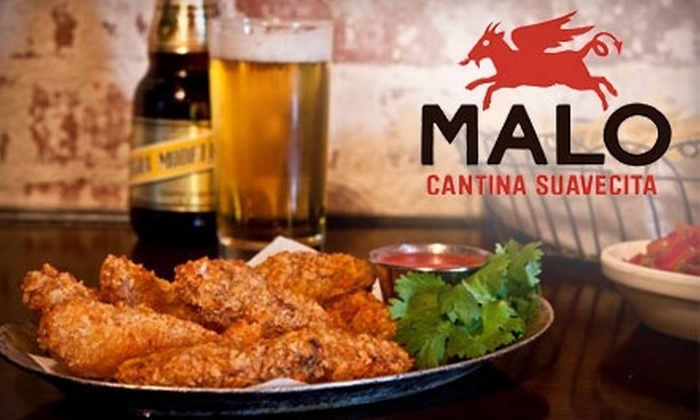 Malo Restaurant - Silver Lake: $20 for $40 Worth of Mexican Fare and Drinks at Malo Restaurant in Silver Lake