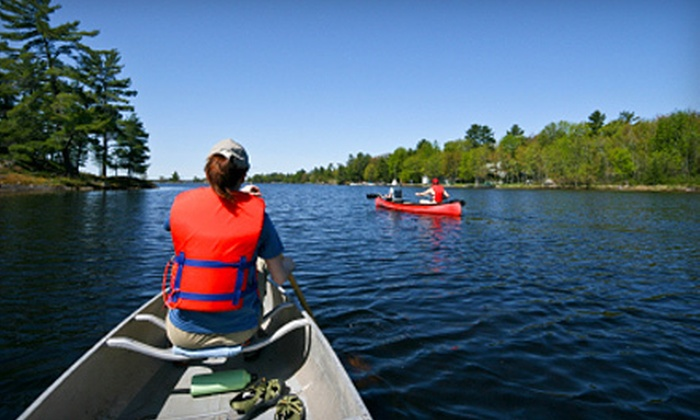 Blackwater Outdoor Adventures - St. George: Tubing, Canoeing, or Kayaking Excursion for Four from Blackwater Outdoor Adventures in Parsons (Up to 52% Off)