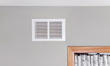 Anti-bacteria and Anti-allergy Air-Duct Treatment, Duct Cleaning, or Both from Green Solutions Cleaning (Up to 81% Off)