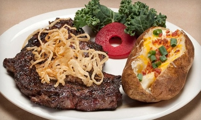 Lytle Land and Cattle Company - South E. Hwy 80: $15 for $30 Worth of Steak and Grilled Seafood Dinner at Lytle Land and Cattle Company (or $10 for $20 Worth of Lunch)