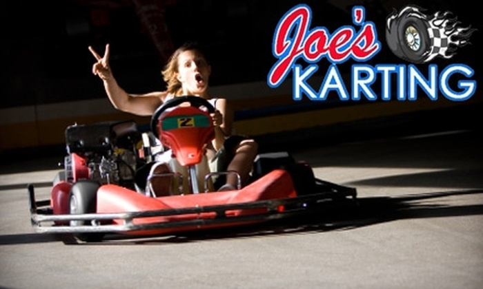 Joe's Karting - Council Bluffs: $20 for Three Go-Kart Races and One Basic Annual Membership at Joe's Karting in Council Bluffs ($42 Value)