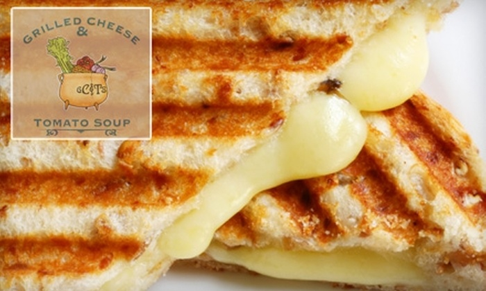 Grilled Cheese & Tomato Soup - Farmington: $7 for $15 Worth of Sandwiches, Salads, Soups, and Drinks at Grilled Cheese & Tomato Soup