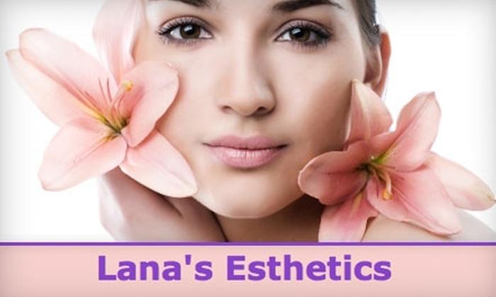 Lana's Esthetics - Hayward Park: $45 for 90-Minute Facial at Lana's Esthetics ($90 Value)
