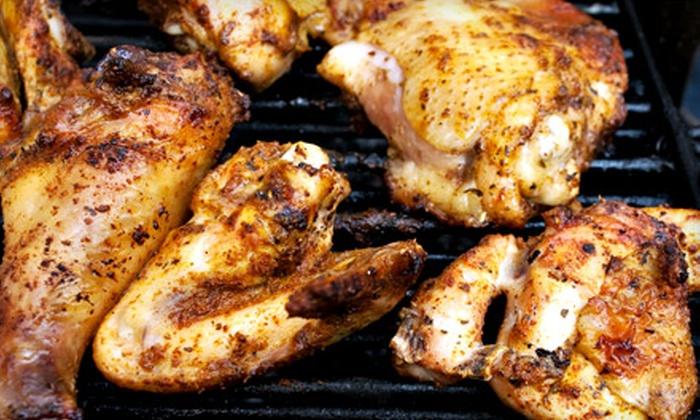 Slick Pig BBQ - Murfreesboro: Barbecue-Wings Dinner for Two or A la Carte Barbecue Fare at Slick Pig BBQ in Murfreesboro