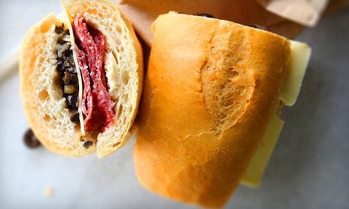 Fino's from the Hill - Midtown,Overton Square: $7 for $14 Worth of Italian Deli Cuisine at Fino's from the Hill