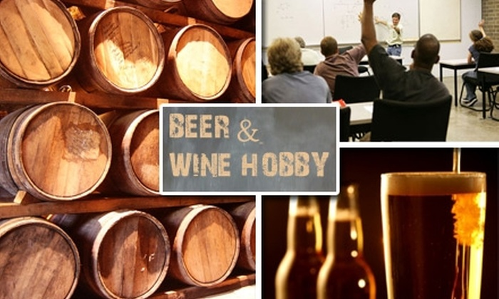 Beer and Wine Hobby - Woburn: $49 for a Home Brewing Kit and Class with Beer and Wine Hobby