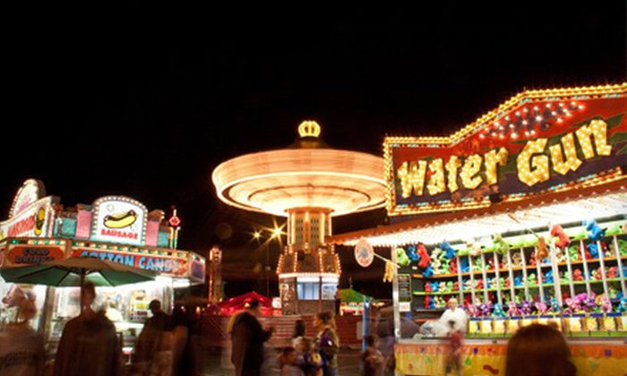 Lane County Fair - West Eugene: $44 for Four Season Passes to the Lane County Fair on August 17–21 (Up to $88 Value)