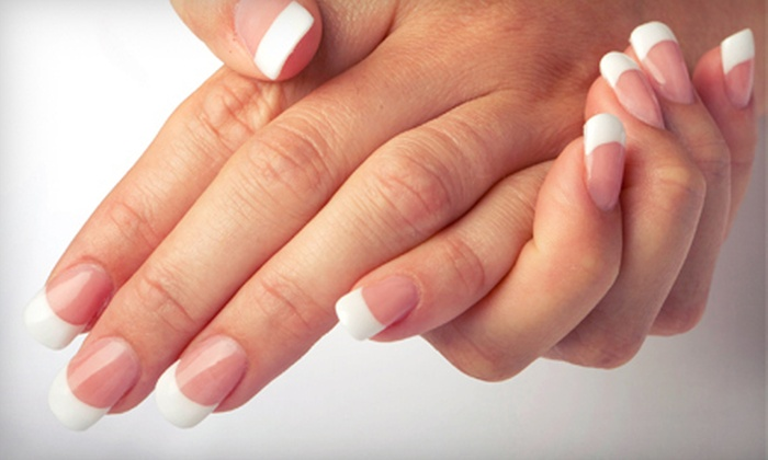 Waves Of Color - St. Charles: $33 for an Ultimate Manicure and a Spa Pedicure at Waves of Color ($68 Value)