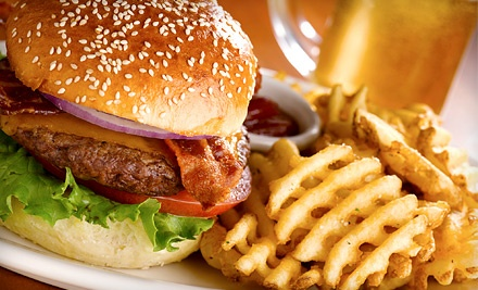Classic American Pub Food for Lunch or Dinner at Sporting News Grill (Half Off)