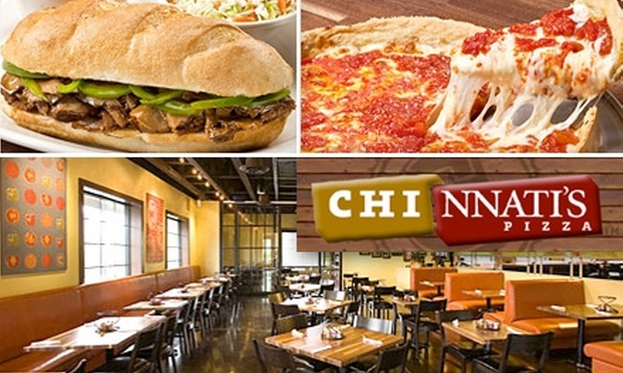 Chi-nnati's - Madeira: $10 for $20 Worth of Chicago-Style Pizza, Sandwiches, and More at Chi-nnati's Pizza