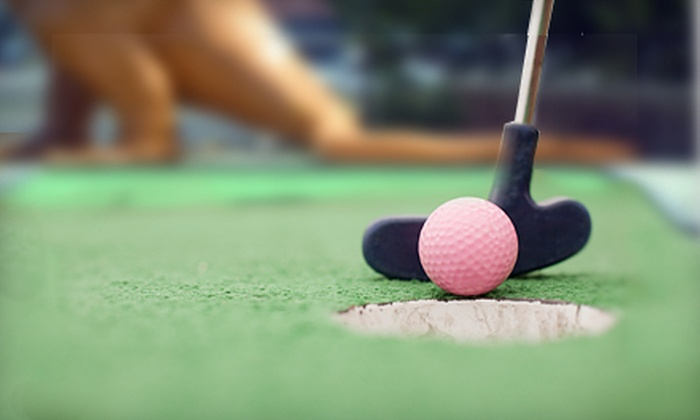 Route 1 Miniature Golf & Batting Cages - Pleasant Hills: One Round of Mini Golf for Four or Six at Route 1 Miniature Golf & Batting Cages (Up to 58% Off)