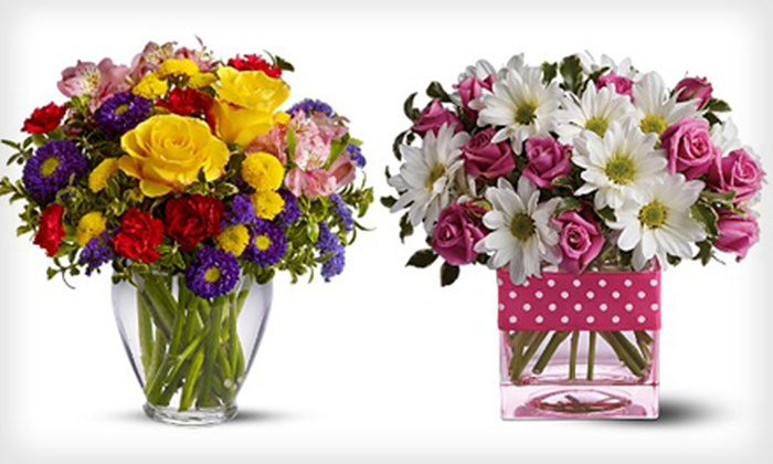 The Flower Place - Wilmington Manor: $20 for $40 Worth of Flower Arrangements or Fruit Baskets at The Flower Place in New Castle