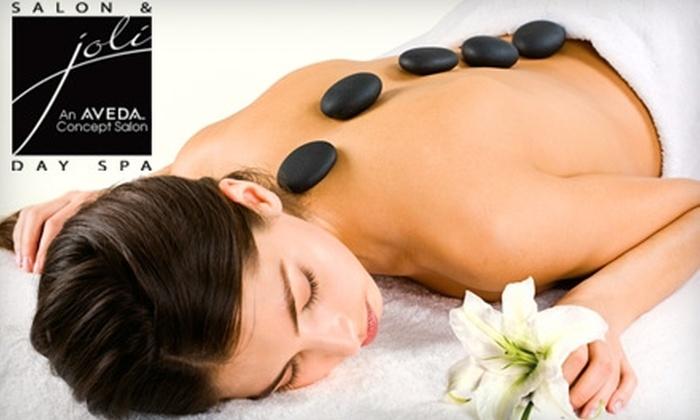 Joli Salon & Day Spa - Calumet: $45 for a 90-Minute Hot-Stone Massage at Joli Salon & Day Spa ($95 Value)