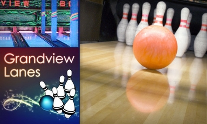 Grandview Lanes - Grandview-Woodland: $5 for Three Games of Five-Pin Bowling with Shoe Rental at Grandview Lanes ($12 Value)