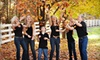 """Moreland Photography - Roswell: $69 for a Photography Session and Holiday Cards or 5""""x7"""" Prints at Moreland Photography in Roswell (Up To $205 Value)"""