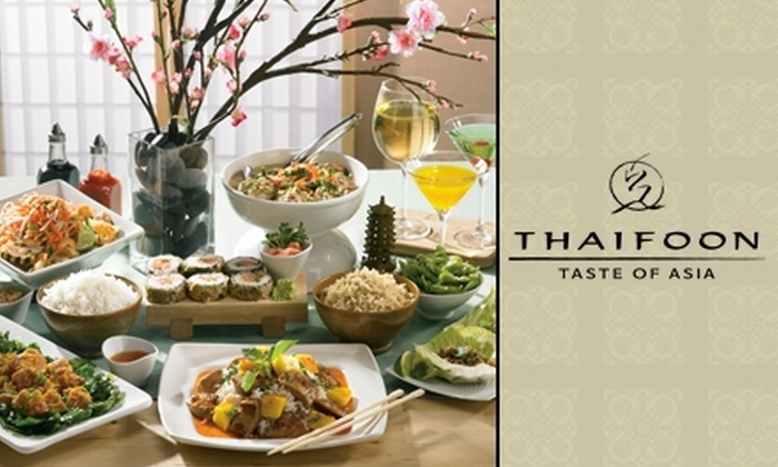 Thaifoon Taste of Asia - Downtown Salt Lake City: $15 for $30 Worth of Authentic Thai Cuisine at Thaifoon Taste of Asia