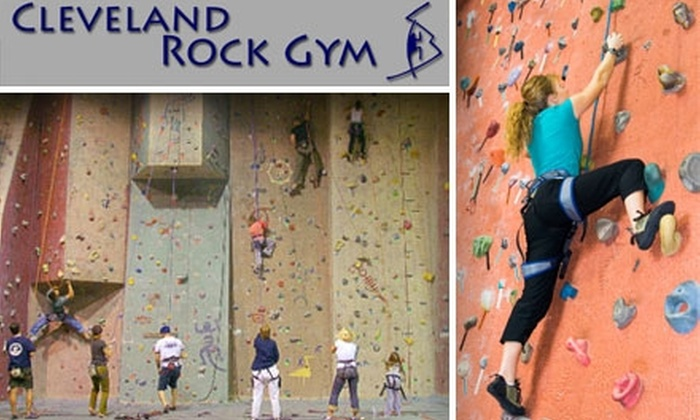 Cleveland Rock Gym - Euclid: $10 for Introduction to Climbing Class at Cleveland Rock Gym