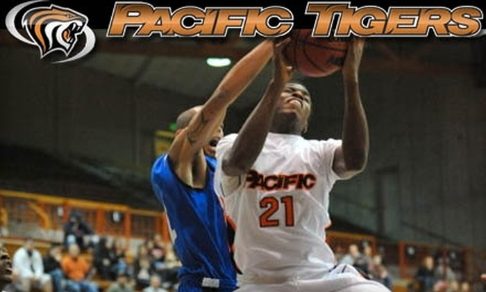 University of the Pacific's men's basketball - Pacific: $12 for Two General-Admission Tickets to University of the Pacific Tigers vs. UC Santa Barbara Gauchos Men's Basketball Game at Alex G. Spanos Center on January 8