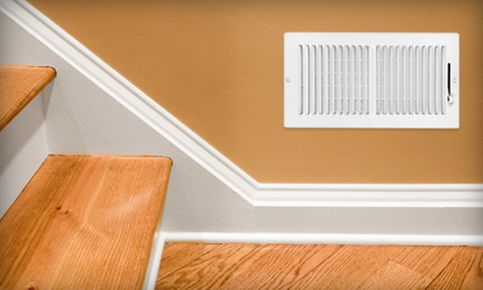 Seabreeze Air - Eugene: Air-Duct Cleaning for Whole Home with or without Dryer-Vent Cleaning from Seabreeze Air (Up to 84% Off)