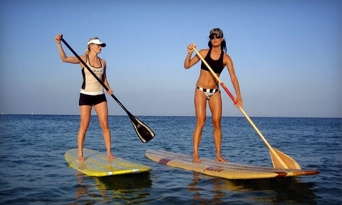 Demo Sport - San Rafael: $50 for a Standup Paddleboard Lesson and All-Day Board Rental from Demo Sport in San Rafael ($100 Value)