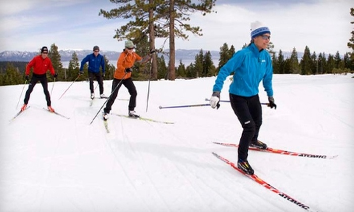 Tahoe Cross Country Ski Area - Highlands: $44 for Two Adult Rentals and Trail Pass at Tahoe Cross Country Ski Area ($88 Value)
