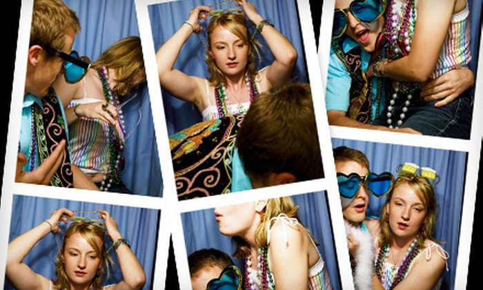 Pied Piper DJ Entertainment - Parma: $200 for a Four-Hour or 75-Session Photo-Booth Rental from Pied Piper DJ Entertainment ($525 Value)