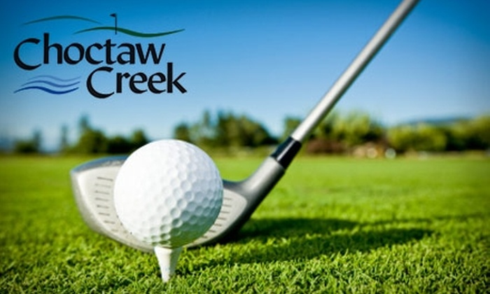 Choctaw Creek Golf Course - Choctaw: $14 for 18 Holes of Golf and a Cart at Choctaw Creek Golf Course (Up to $29 Value)