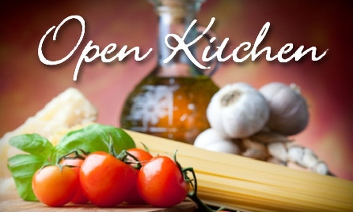 Open Kitchen - Wesley Heights: $15 for $30 Worth of Italian Cuisine at Open Kitchen