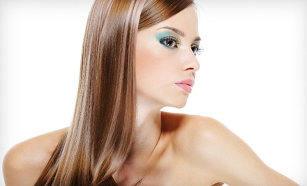 Haircut, Style, and a Deep-Conditioning Scalp Treatment (a $55 value) - For Your Eyes Only Creative Hair Salon and Spa in Jacksonville