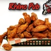 $7 for Pub Fare and Drinks at Rhino Pub