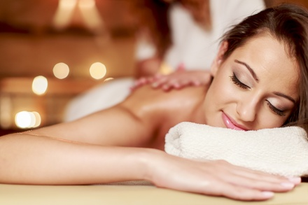 60-Minute Custom Massage with Optional Rejuvenating Facial at Spa D'Luna (Up to 58% Off)