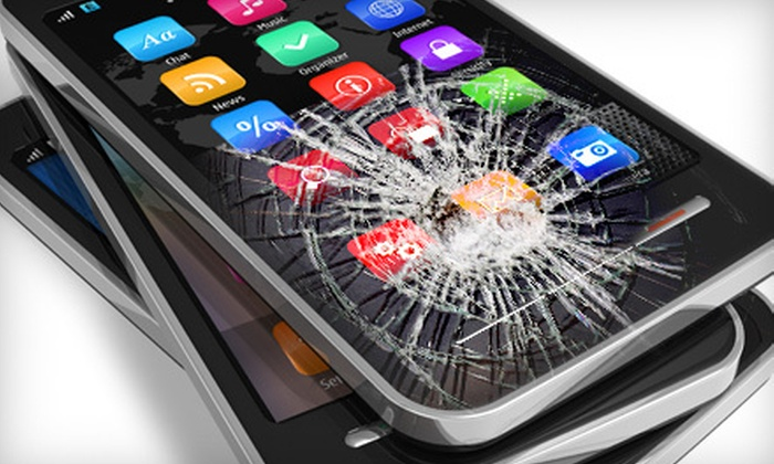 uBreakiFix Co. - Multiple Locations: Electronics Repairs or Smartphone Screen Replacement at uBreakiFix Co. (Up to 51% Off). Four Options Available.