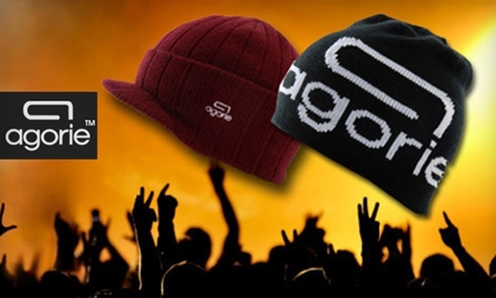 agorie.com: $10 for Headwear from Agorie (Up to $22 Value)