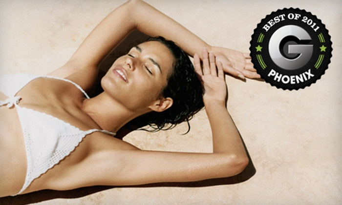 The Glo Studio - Downtown Scottsdale: Three or Five Organic Airbrush Tans at The Glo Studio in Scottsdale (Up to 67% Off)