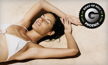 3 Organic Airbrush Tans (a $75 value) - The Glo Studio in Scottsdale