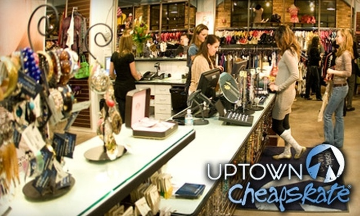 Uptown Cheapskate - Rio Grande: $15 for $35 Worth of Gently Used Name-Brand Apparel at Uptown Cheapskate