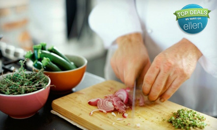 Delish! Cooking School - Buffalo: $35 for a Cooking Class for Two at Delish! Cooking School ($70 Value)