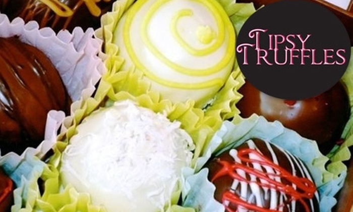 Tipsy Truffles - Spring Valley: $18 for Eight Chocolate Drops and Six Cake Balls from Tipsy Truffles ($34 Value)