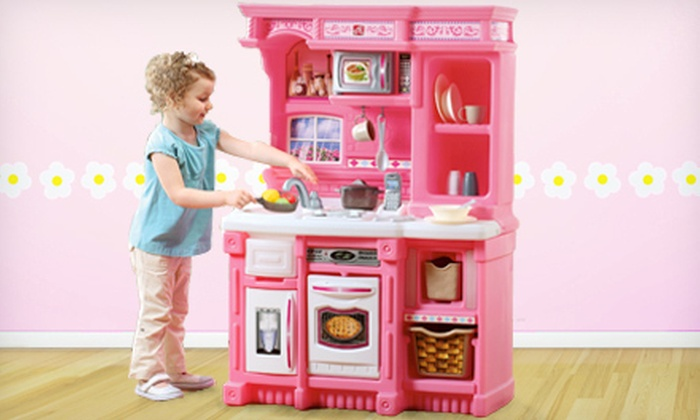 Image gallery toy kitchen for Toy kitchen set