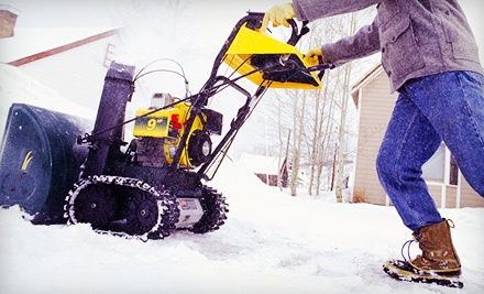 Snow Removal From a Driveway Up to 2,500 Square Feet (a $100 value) - Curb Appeal Design in