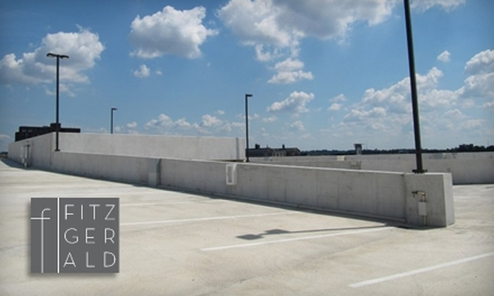 The Fitzgerald Parking Garage - Mid-Town Belvedere: $50 for One-Month Unlimited Parking Pass from The Fitzgerald Parking Garage ($130 Value)