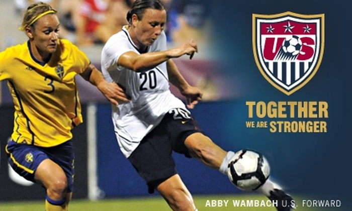 US Soccer Federation - Bedford Park: $20 for Two Sideline Tickets to the U.S. vs. Italy FIFA Women's World Cup Qualifier on Nov. 27, Plus a 2010 Team Yearbook ($50 Value)